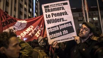 W Pradze spotkanie partii antyimigracyjnych. Mobilizacja policji i tajnych agentów