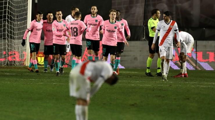 Puchar Króla: Męczarnie Barcelony z drugoligowcem