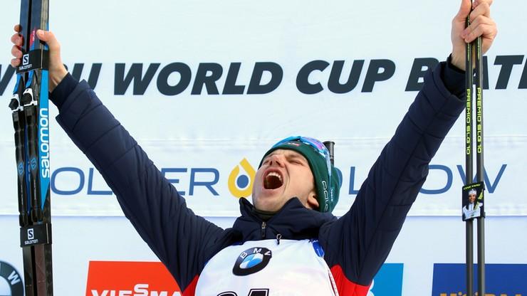 PŚ w biathlonie: Christiansen wygrał sprint w Salt Lake City, Polacy daleko