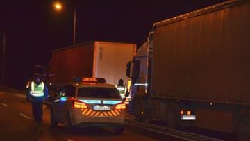 Nielegalni imigranci w polskiej ciężarówce. Chcieli przedostać się na Węgry