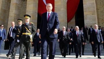 Erdogan: oczyściliśmy z Państwa Islamskiego i kurdyjskich bojowników 400 km kw. w północnej Syrii