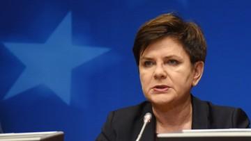 Szydło: mamy opozycję, która nie kocha Polski