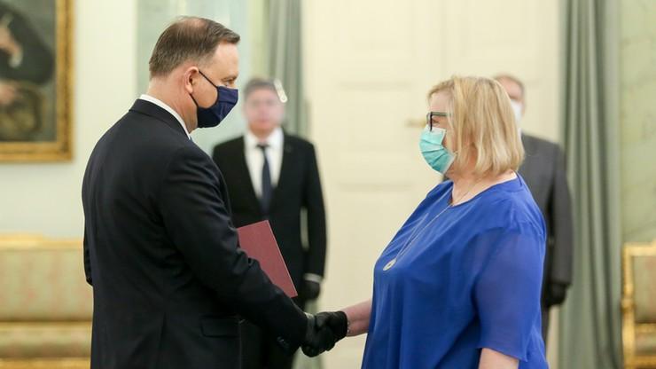 Małgorzata Manowska oficjalnie I prezes Sądu Najwyższego