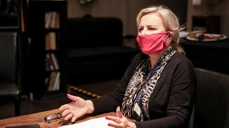 Janda: podałam rektorowi WUM listę kolegów, którzy zgodzili się być ambasadorami szczepień