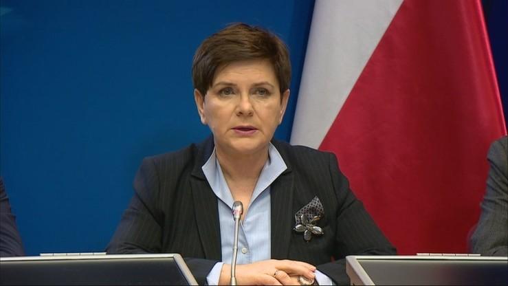 Szydło: konkluzje szczytu nie zostały przyjęte, bo Polska ich nie przyjęła