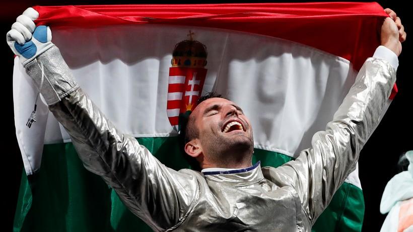 Tokio 2020: Aron Szilagyi mistrzem olimpijskim w szabli