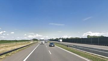 Śmiertelna ofiara wypadku na A2 między Słupcą a Sługocinem. Autostrada jest zablokowana