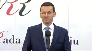 Morawiecki: chcemy niewidzialną rękę rynku wesprzeć widzialną ręką państwa