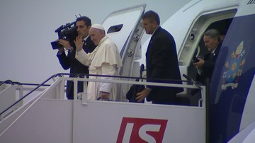 Papież Franciszek zakończył wizytę w Polsce. Już jest w Rzymie