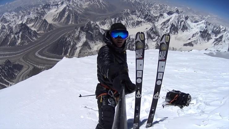 Polak miał zjechać z K2 na nartach jako pierwszy człowiek na świecie. Nie udało się