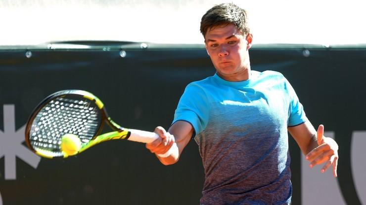 Puchar Davisa: Majchrzak przegrał z Copilem w pierwszym meczu