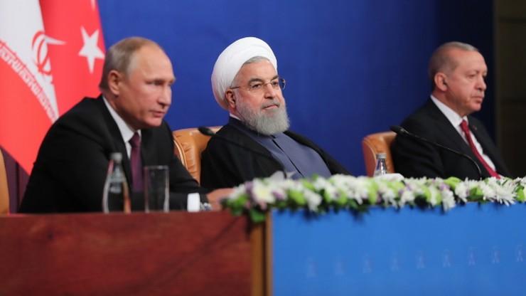 Rosja, Iran i Turcja uzgodniły wspólne stanowisko w sprawie Syrii