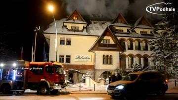 """Poszkodowani w pożarze hotelu Belvedere goście walczą o odszkodowania. Ustalenia reporterów """"Interwencji"""""""