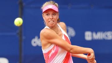 """WTA Courmayeur: Fręch lepsza od Radwańskiej w """"polskim meczu"""""""