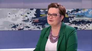 """Lubnauer: minister Zalewska zgodnie z zasadą """"zadzieram kiecę i lecę"""" pędzi do Brukseli"""