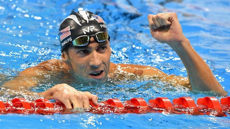 Rio: Michael Phelps zdobył 20 i 21 złoty medal olimpijski. W ciągu godziny