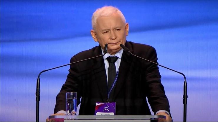 """Kongres Prawa i Sprawiedliwości. Kaczyński przedstawił """"wizję partii"""""""
