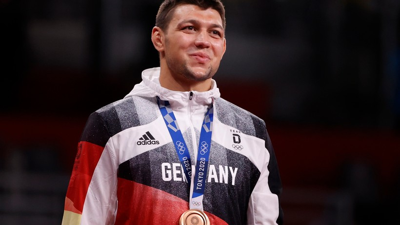 Tokio 2020: Niemiecki zapaśnik urodzony w Raciborzu brązowym medalistą