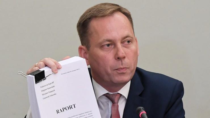 Konwiński: raport komisji śledczej ds. VAT to stek kłamstw i półprawd