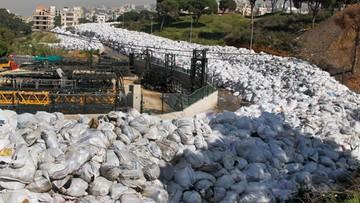 Śmieci zalały ulice Bejrutu