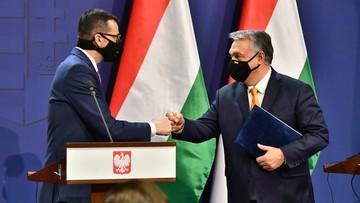 """Spotkanie Morawiecki-Orban. """"Jesteśmy otwarci na nowe propozycje"""""""