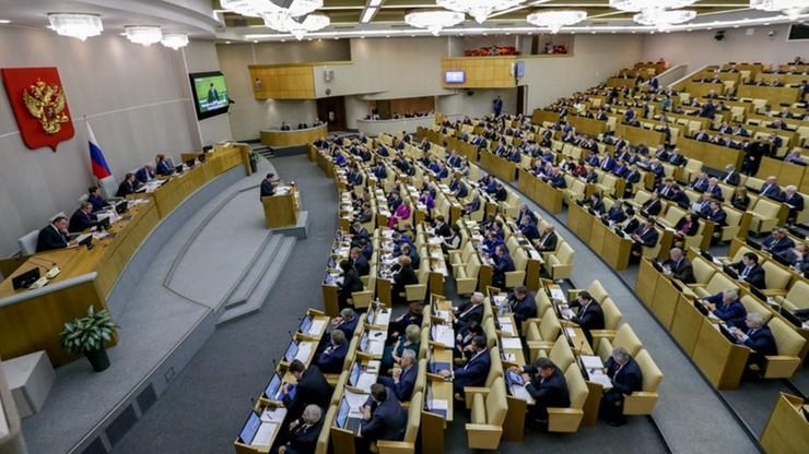 Aplauz rosyjskiej Dumy w reakcji na zwycięstwo Trumpa