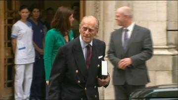 Wielka Brytania: 96-letni książę Filip wycofał się z życia publicznego