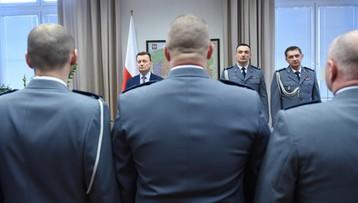 """Błaszczak nagrodził funkcjonariuszy. M.in. za złapanie """"Hossa"""""""