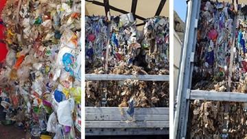 Płoną wysypiska, a do Polski wciąż wwożone są nielegalne odpady