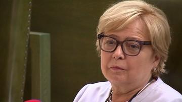 """Małgorzata Gersdorf przerwała urlop i wróciła do pracy. """"Prezes uznała, że powinna być razem z nami"""""""