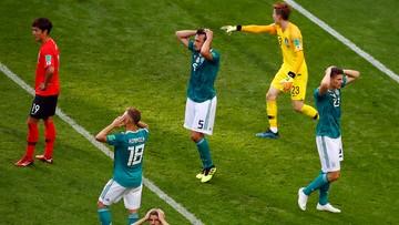 Niemcy odpadają z mundialu! Dwa ciosy Koreańczyków w doliczonym czasie gry