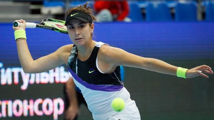 WTA w Moskwie: Awans Bencic do finału. Wystąpi też w Mastersie
