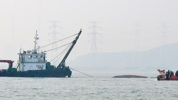 Kolizja kutra z tankowcem u wybrzeży Korei Południowej. Co najmniej 13 osób nie żyje