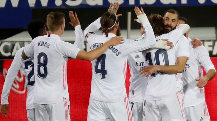 Real Madryt kontynuuje zwycięską serię i jest wiceliderem La Liga