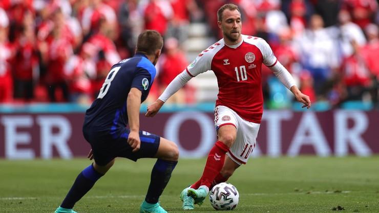 Euro 2020: Wciąż nie jest znana przyczyna kłopotów z sercem Christiana Eriksena