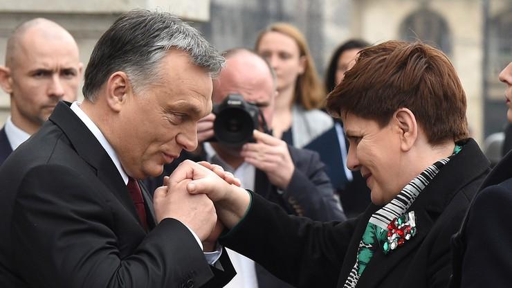Premier Szydło z wizytą na Węgrzech. Trwają rozmowy z Victorem Orbanem
