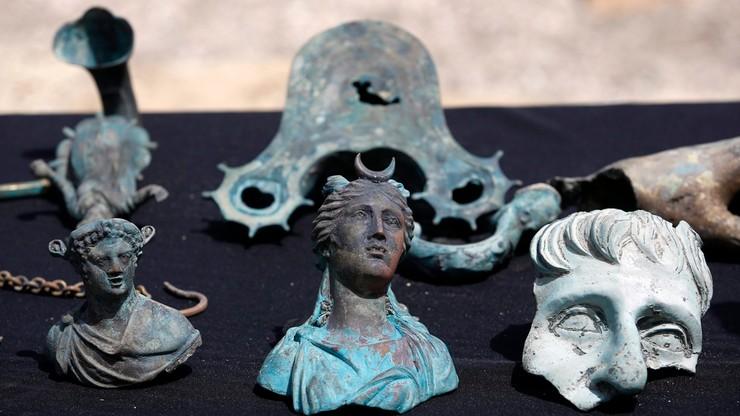 Izrael: antyczne znalezisko odkryte przez nurków we wraku statku