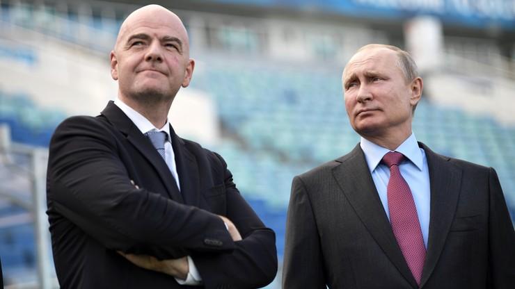 MŚ 2018: Prezydent FIFA potwierdził gotowość organizatorów