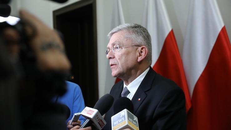 Karczewski: nie jest pewne, czy rekonstrukcja rządu będzie w styczniu