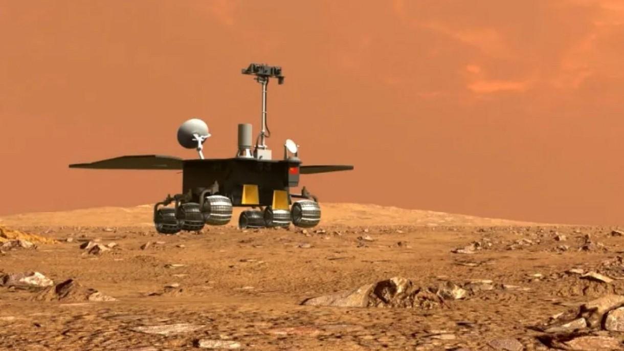 Co się dzieje z chińskim łazikiem na Marsie. Gdzie są pierwsze zdjęcia?