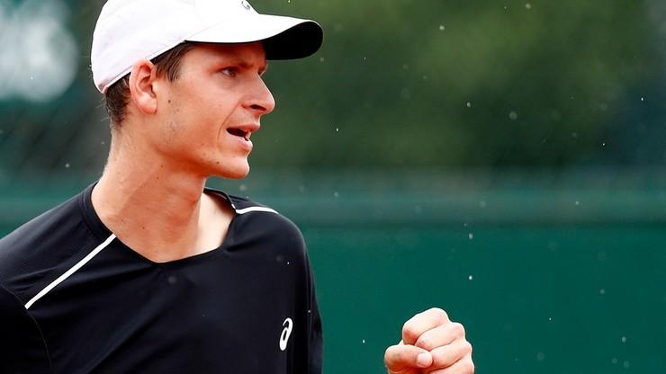 Challenger Poznań Open: Hurkacz awansował do półfinału