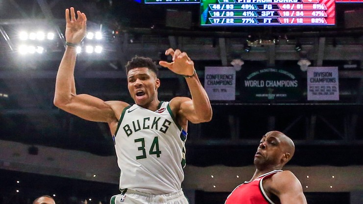 NBA: Antetokounmpo zachwyca, Bucks wygrywają, rekord jest blisko
