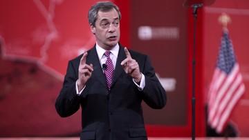 Nie będzie zmiany brytyjskiego ambasadora w USA. Trump chciałby Farage'a