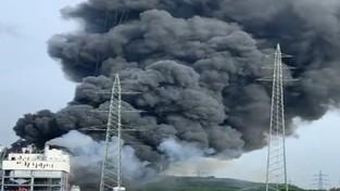 28-07-2021 05:57 Toksyczna chmura z wybuchu w niemieckich zakładach chemicznych dotarła nad Polskę