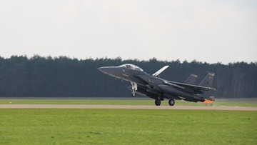 Kilkadziesiąt myśliwców z USA w Polsce. Pentagon tłumaczy