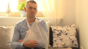"""""""Tłukli mnie jak worek treningowy"""". Mieszkaniec Gorzowa oskarża policjantów o pobicie"""