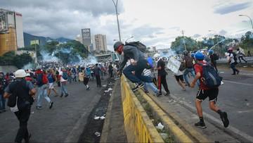 Kolejne wielotysięczne demonstracje w Wenezueli. Prezydent: to zamach stanu