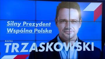 Trzaskowski zaprezentował hasło, z którym chce walczyć o prezydenturę