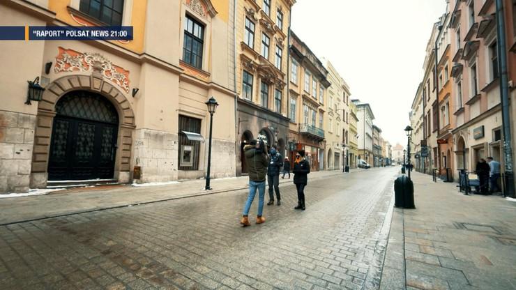 """""""Raport"""": pusty Kraków. Takiej sytuacji nie pamiętają najstarsi mieszkańcy"""