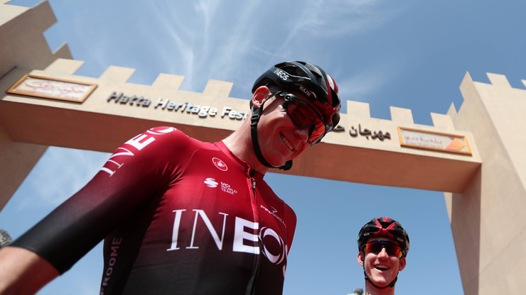 Chris Froome zadebiutuje w nowej grupie kolarskiej